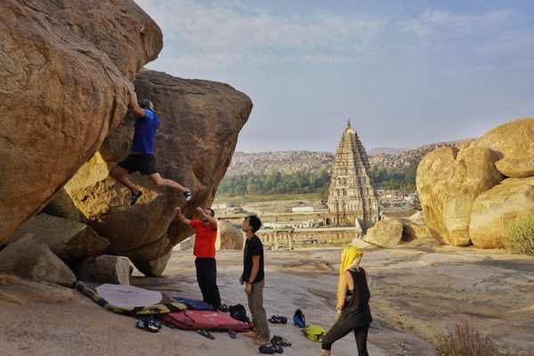 Bouldering in India, Rock climbing in India