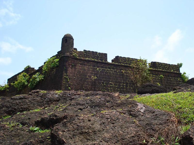 Chapora Fort, Goa Forts