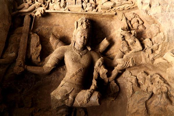 Elephanta Caves, Carvings
