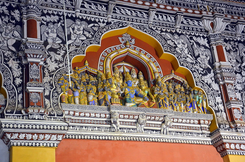 Thanjavur Maratha Palace, Temples in south India