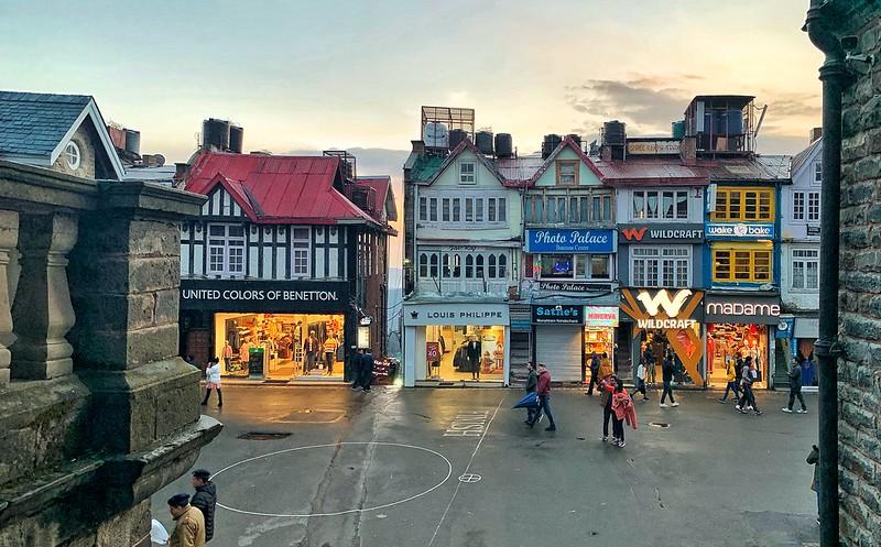 Mall road shimla, shopping in shimla
