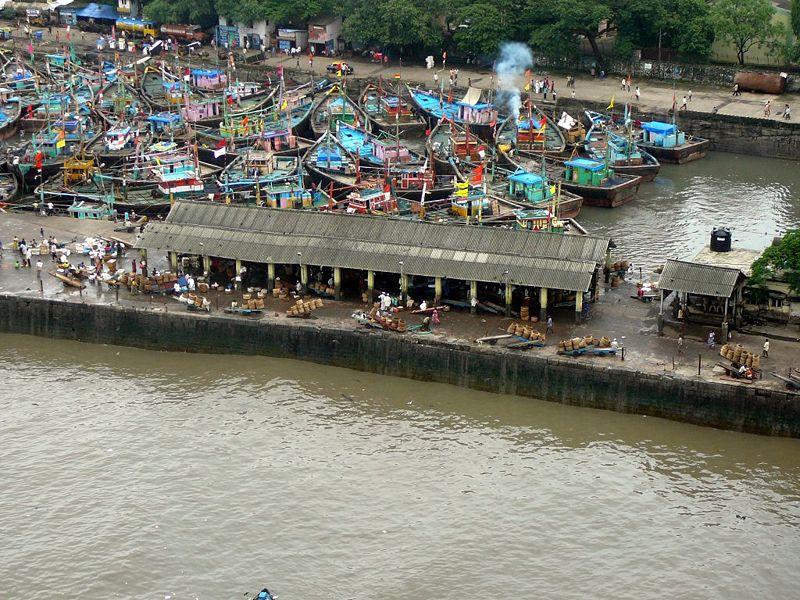 Sasson dock, Mumbai the mega city