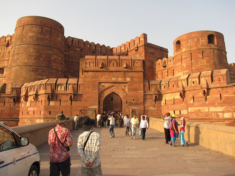 Agra fort, places to see in Agra