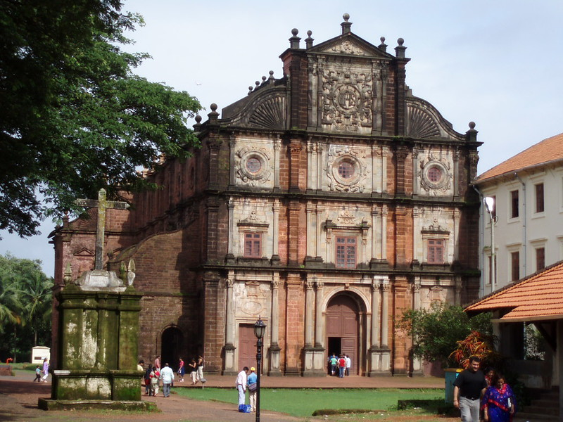 Bom Jesus Basilica. Goa's oldest Church