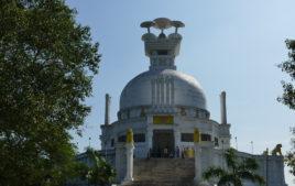 Dhauli Shanti Stupa, Places to visit in Puri