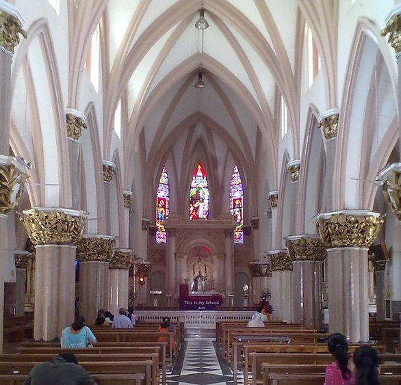 St Mary's basilica, Churches in India