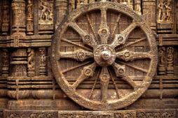 Sundial at the Sun Temple, Temples in India, Orissa