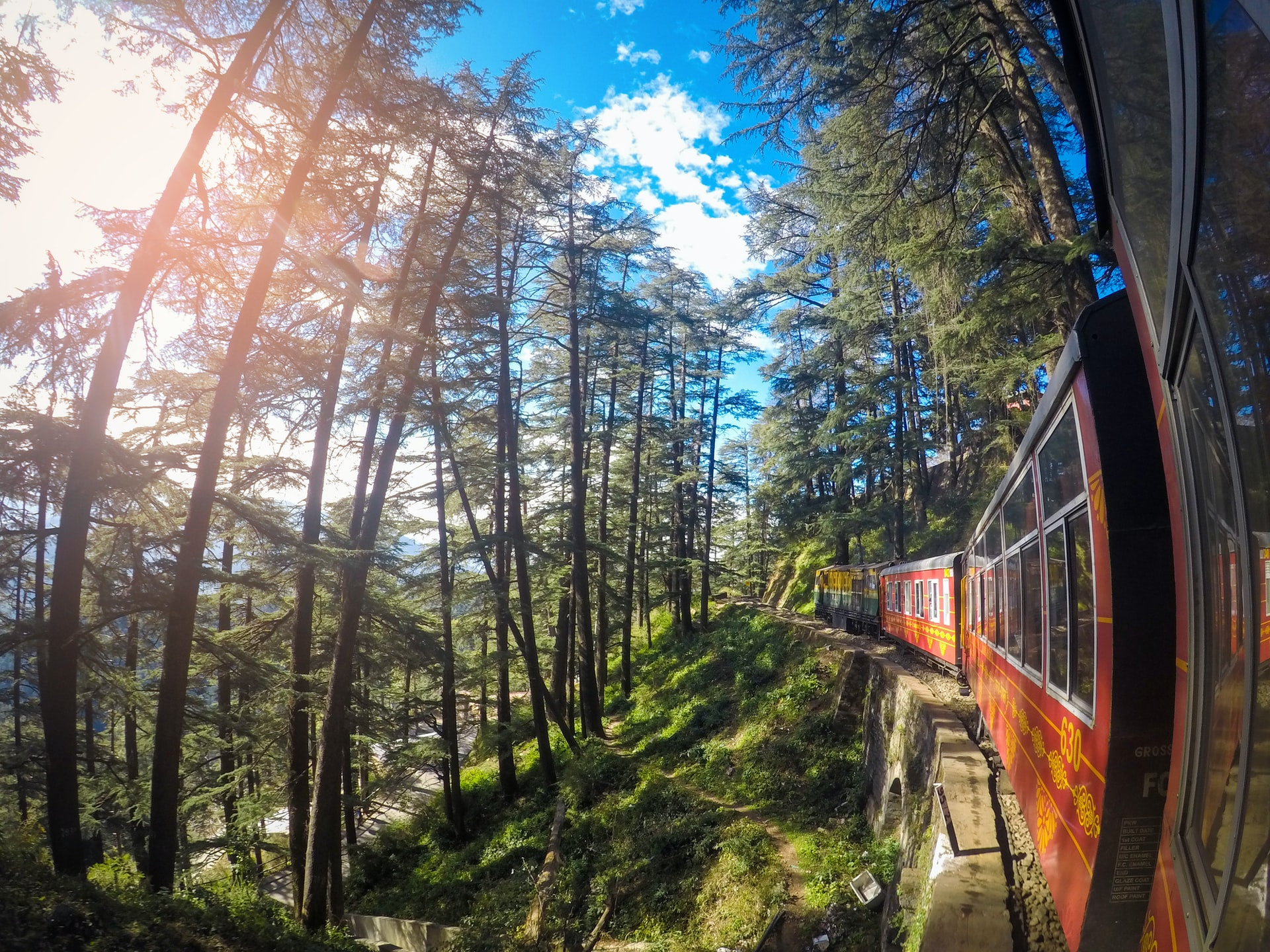 Scenic routes in North India