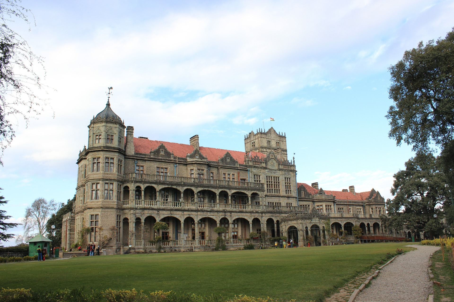 Existing colonial structures of British in India