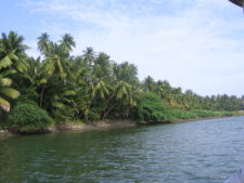 Backwaters in South India, Pondicherry
