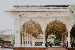 reise nach Indien, agra fort