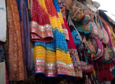 pushkar street shopping