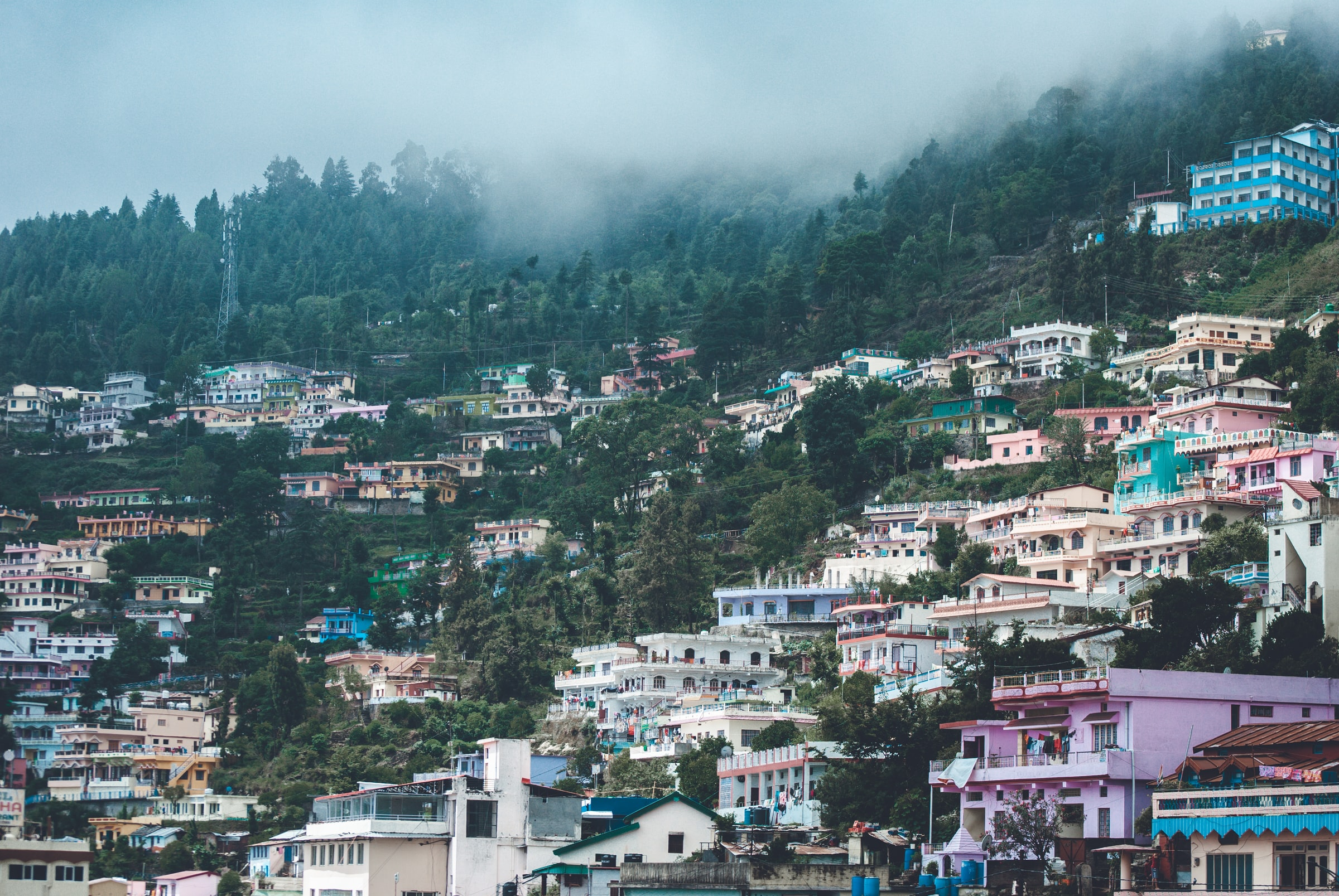 Sightseeing in Mussorie, Uttarakhand