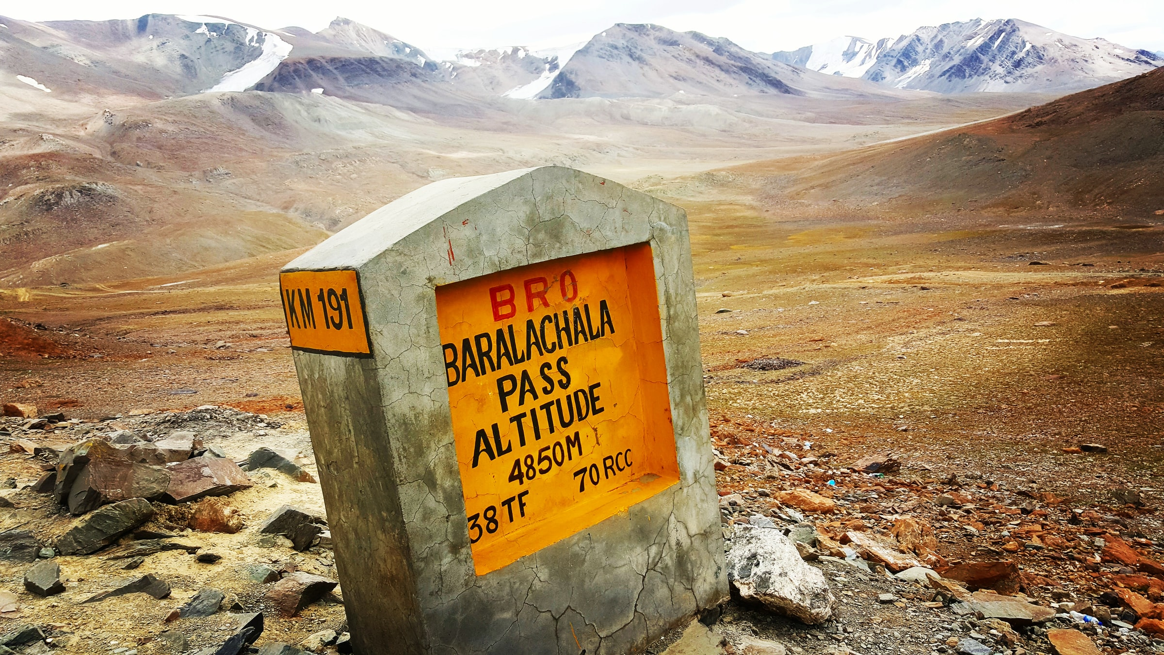 one of the higest motorable roads in India