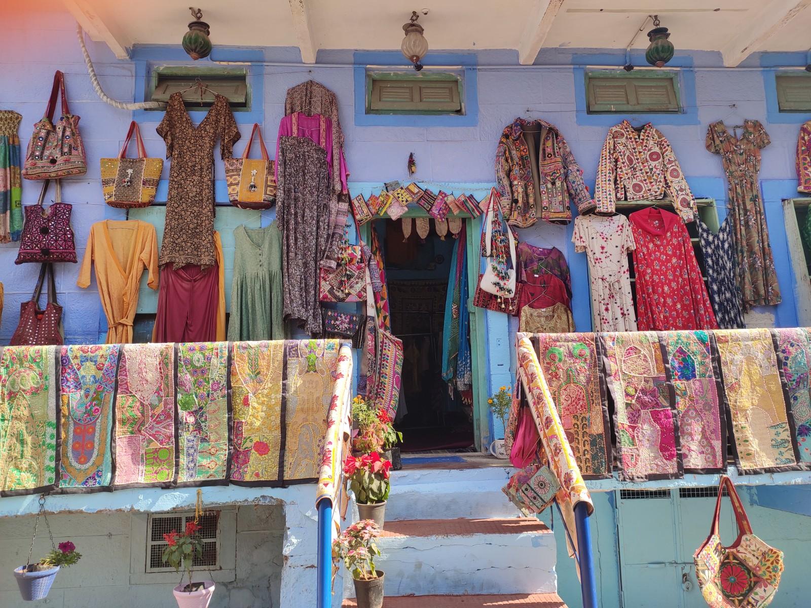 Shopping in Jodhpur, India