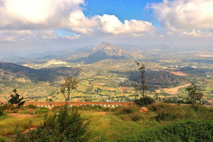 Nandi Hills trek - best places for trekking in Karnataka